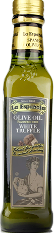 La Española flavoured olive oil bottle