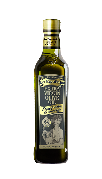 La Española Extra Virgin Olive Oil bottle