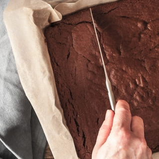 Gluten-Free Olive Oil Chocolate Traybake by Becky Excell